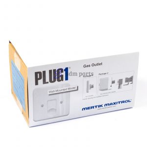 PLUG1 Gas Outlet Wall-Mounted Mertik Maxitrol